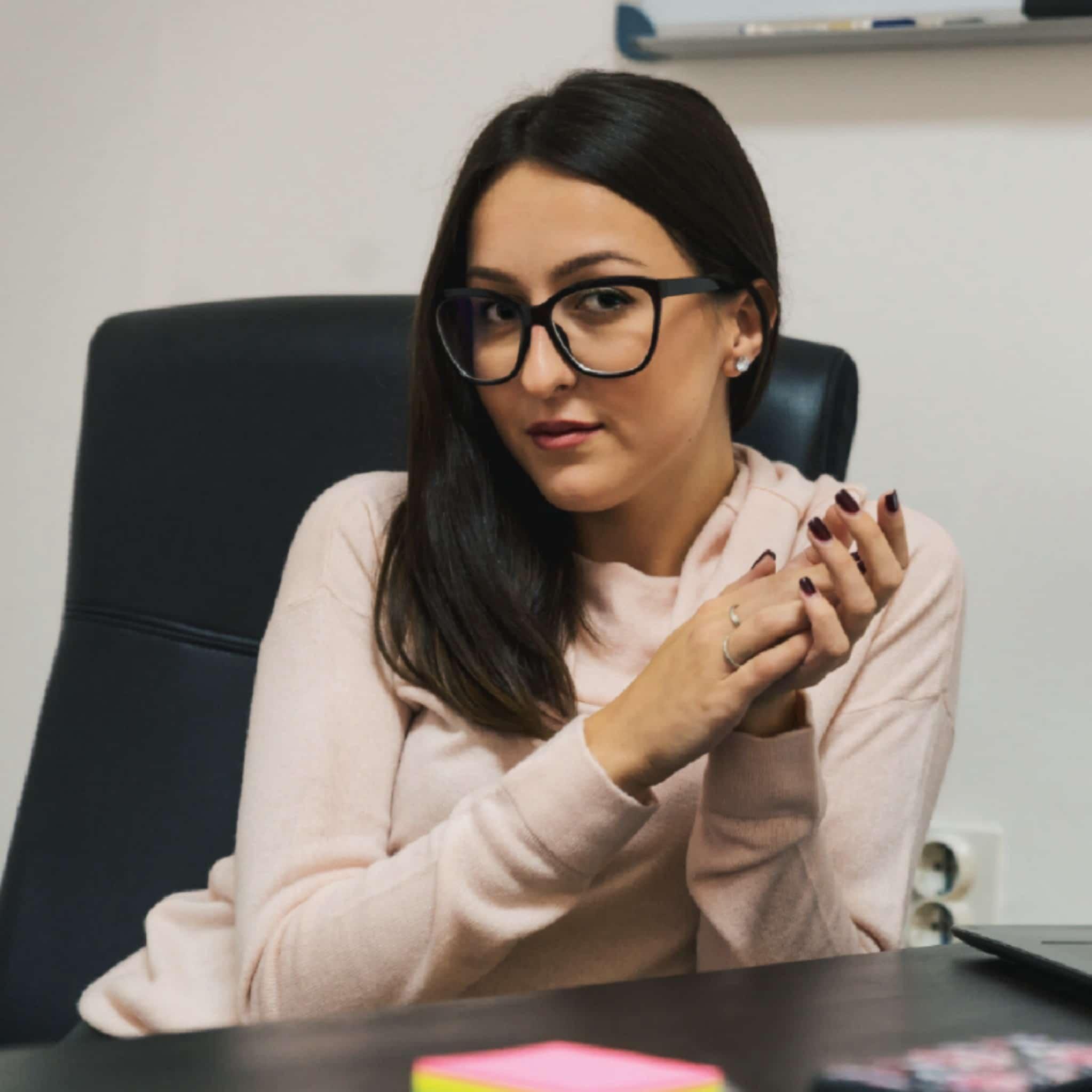 Hristina Nikolovska, Marketingspezialistin