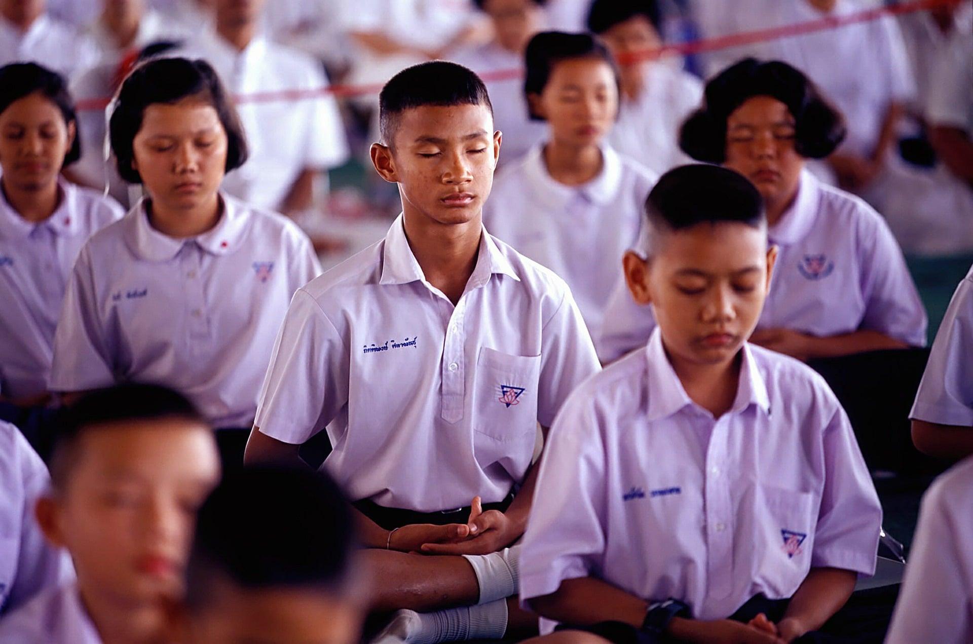 Meditation Statistics - At School