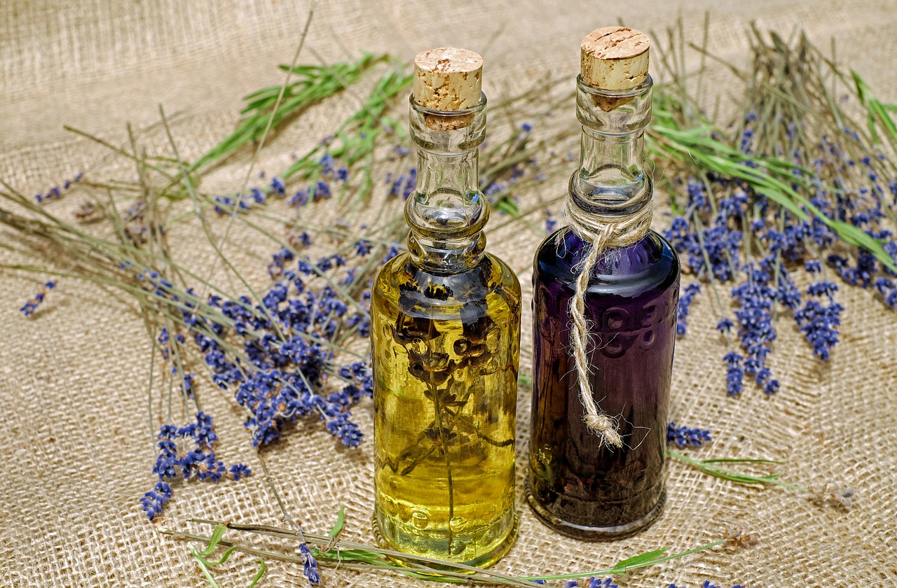 Essential Oils for Sleep - Lavender