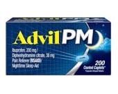 Best Over the Counter Sleep Aid - Advil PM sleep aid