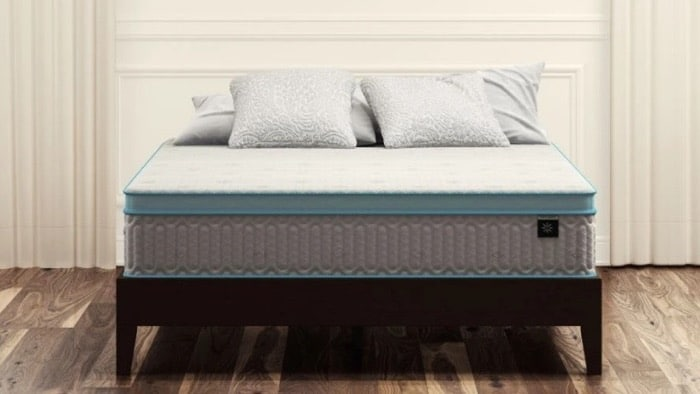 Zinus Mattress Review - Mint Green