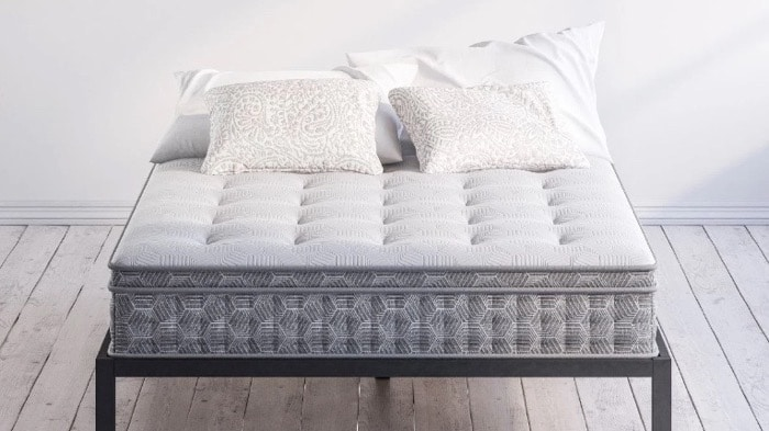 Zinus Mattress Review - Pressure Relief