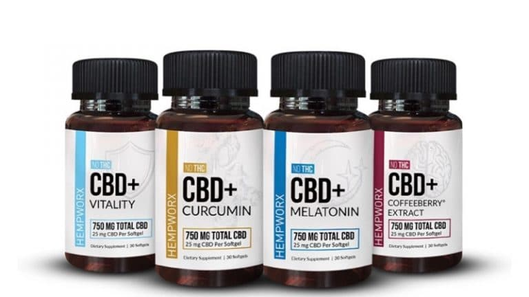 Hempworx Reviews - CBD Softgels