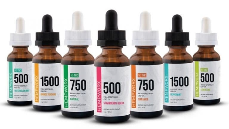 Hempworx Reviews - CBD Tinctures