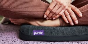Purple Seat Cushion Review - Featured