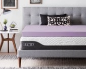 Best Mattress Toppers Canada - Lucid Mattress Topper Review