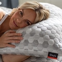 Best Pillow for Back Pain - Layla Kapok Pillow Review